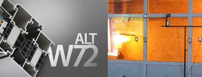 Противопожарный профиль ALT W72FR