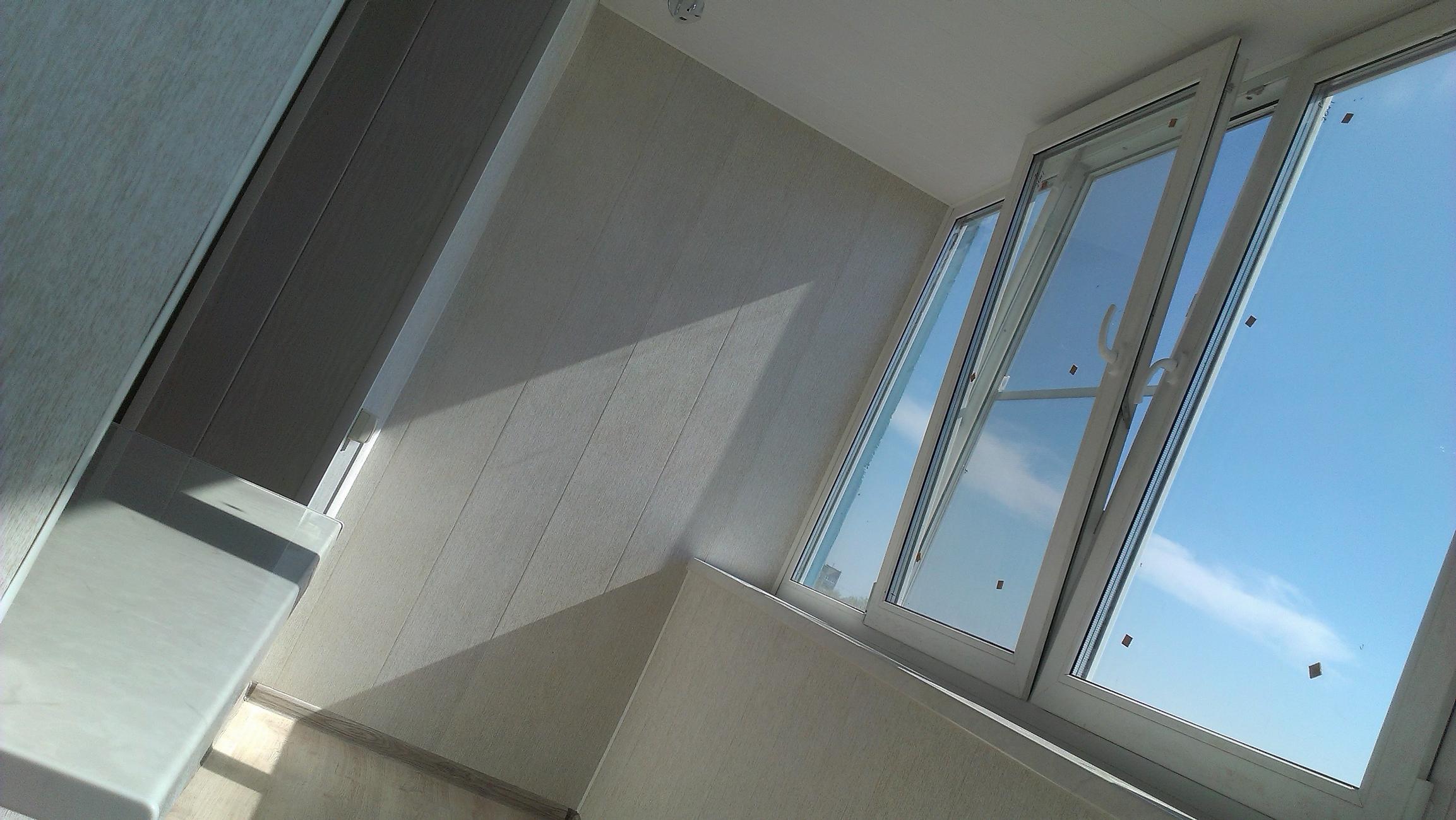 Теплое остекление балконов и лоджий в рязани.
