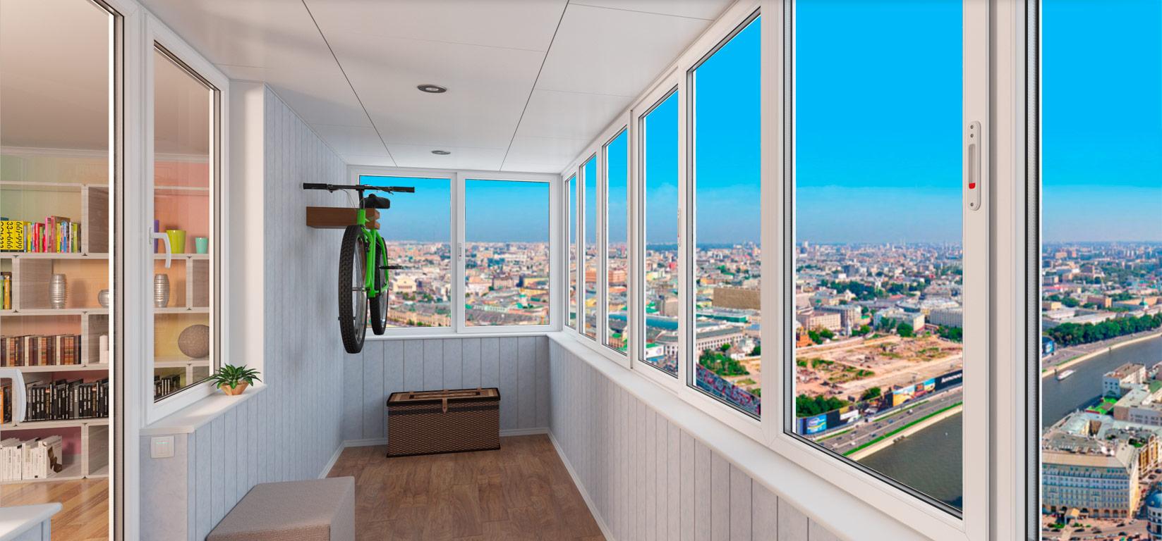 Застеклить балкон или лоджию у нас - выгодно! - партнер74.